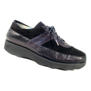 THIERRY RABOTIN Layla $495 Leather/Suede Oxfords